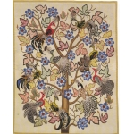 AUBUSSON TAPESTRY:L'Arbre d'Email