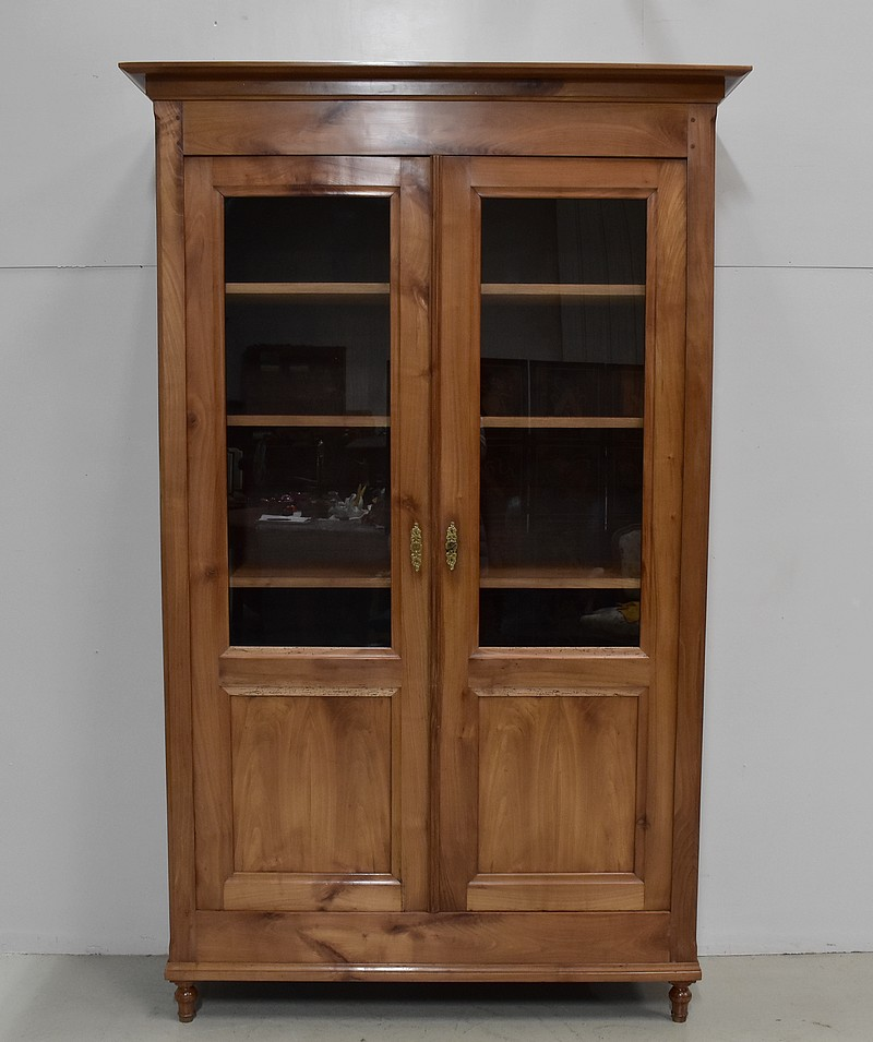 Victorian 2 door bookcase - XIXth