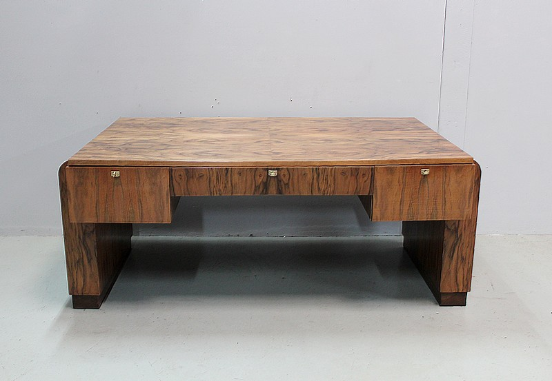 Large Art-Deco desk - twentieth
