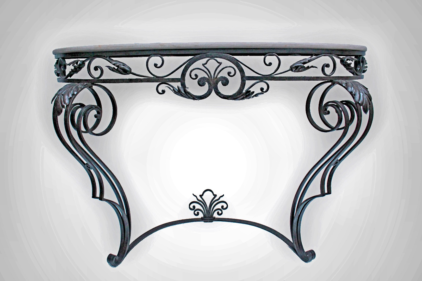 CONSOLE TABLE SIGNED P. Roze