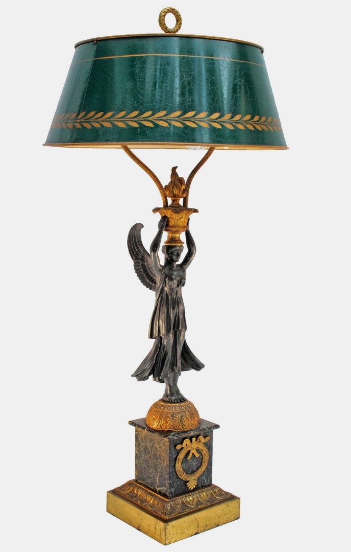 FRENCH EMPIRE STYLE LAMP