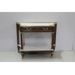 Louis XVI trapezoidal console - eighteenth