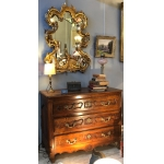 Rocaille Mirror In Golden Wood 19th Century