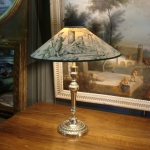 Bronze Lamp XIXth