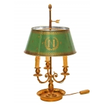 FRENCH EMPIRE STYLE BOUILLOTTE LAMP