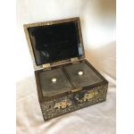 19th C TEA CADDY
